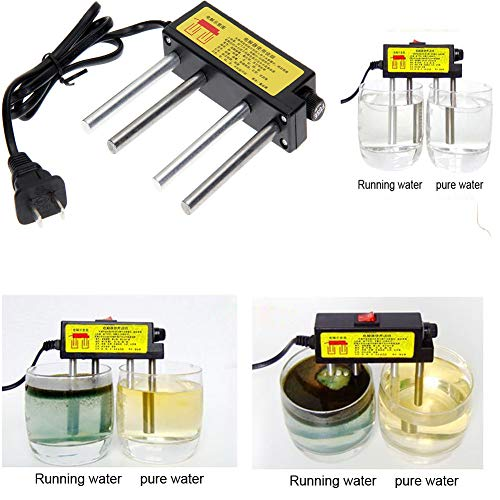 elegantstunning Elektrolyzer, schnelle Wasserqualitätstests Elektrolyseausrüstung TDS-Tester