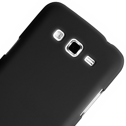 Generic Rubberised Hard Case Back Cover for SAMSUNG GALAXY GRAND 2 G7102 - BLACK