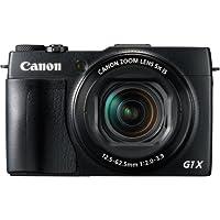Canon PowerShot G1X Mark II Digitalkamera (12,8 Megapixel, CMOS Sensor, 5-fach optischer Zoom, 1:2-3,9, 24-mm Weitwinkel, Full-HD) schwarz