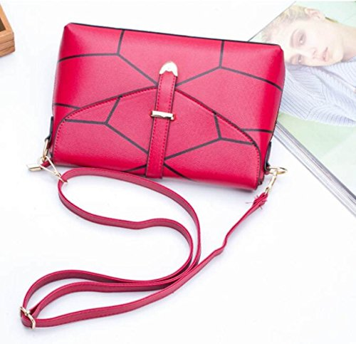 Einfache Art- Und Weisedame-Handtasche Für Beiläufiges Schulter-Kurier-Beutel-Paket Red