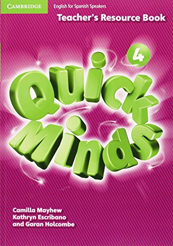 Quick Minds Level 4 Teacher's Resource Book - 9788483233832