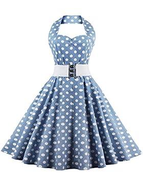 VKStar®Retro Chic ärmellos Kinderkleid 1950er Audrey Hepburn Kleid / Mädchen Kleid Rockabilly Swing Kleid Kommunionkleid