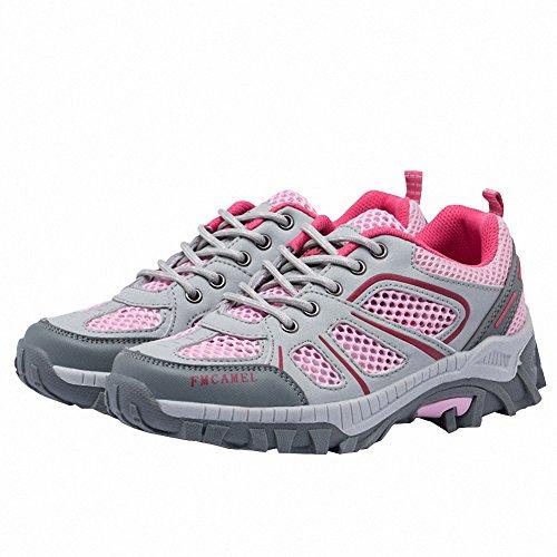 Ben Sports Scarpe sportive Scarpe da escursionismo da donna Uomo rosa