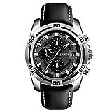 Best Hublot Watches - Skmei Analog Black Dial Men's Watch-9156 SL-BK Review