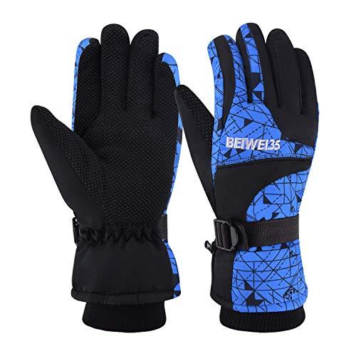 0b8daa2422 MATT SAGA Gants de Ski d hiver Imperméables pour Homme Femme Gants Sports  de Plein