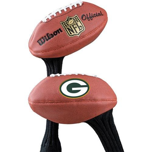 Wilson Football NFL Greenbay Packers Logo, Braun, Mini