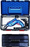 #2: Bosch Freedom Kit GSB 550 Watt Impact Drill Kit (Blue, 91-Pieces)