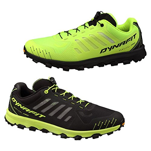 Dynafit - MS Feline Vertical Pro Hommes Montagne Chaussure de Course (Noir/Vert)