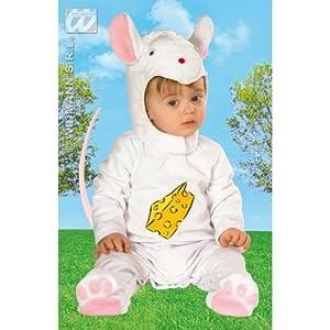 WIDMANN Bebé de Cutie del traje del ratón de los niños para Animal Jungle Farm vestido de lujo