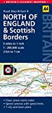 Road Map, North England & Scottish Borders (AA Road Map Britain Series - 8)