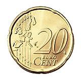 Cascarilla Moneda - 20 cts € - Juego de Magia