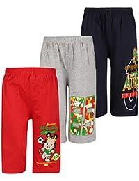 dongli Boys Fabulous Printed Capri(Pack of 3)