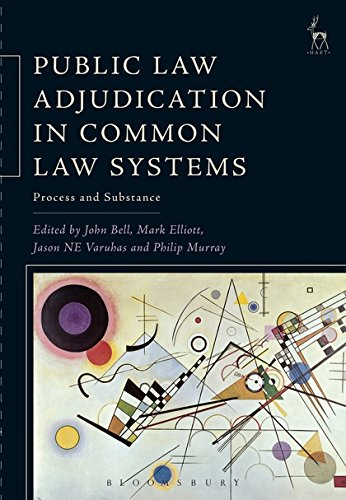 Public Law Adjudication in Common Law Systems: Process and Substance (Hart Studies in Comparative Public Law)