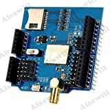 Asiawill� GlobalSat GPS Development Expansion Board with Micro SD Card Slot for Arduino - Blue + Black