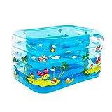 Bloomy Home- Aufblasbare Babybadewanne Portable Mini Air Pool Kleinkind Dicke Faltbare Dusche Becken