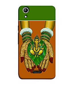 Micromax Canvas Selfie Lens Q345 Back Cover Lord Ganesha Image Design Design From FUSON