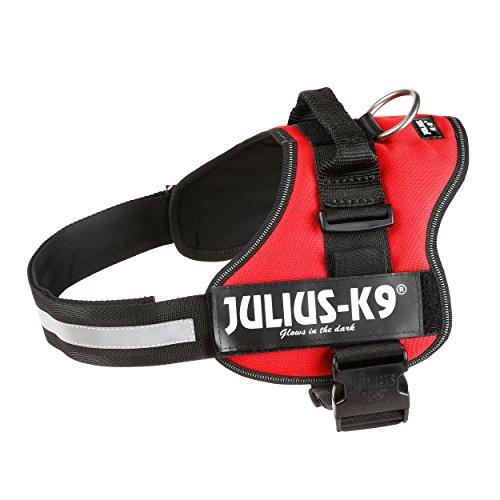 JULIUS-K9, 162R1, K9-Powergeschirr, Größe: 1, rot - 2
