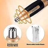 Nasenhaarschneider Augenbrauentrimmer Nasen & Ohren haartrimmer 2 in 1 Gesichtshaarschneider für Männer Batteriebetrieben