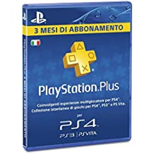 Sony Ps4 Branded Playstation Plus Card 90 Gg [Importación Italiana]