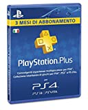 Sony Playstation Plus Card 3 mesi