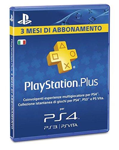 Preisvergleich Produktbild SONY PLAYSTATION PS4 PLUS CARD 90 GIORNI