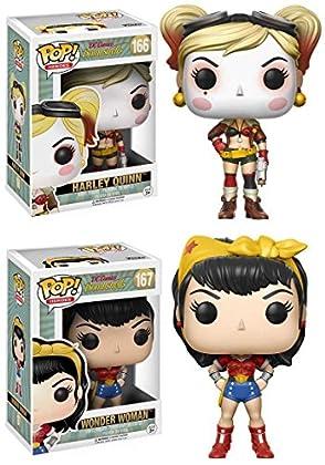 Funko POP! DC Comics Bombshells: Harley Quinn +...