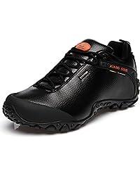 XIANG GUAN Zapatos de Deporte y Aire Libre, Zapatillas de Cuero para Senderismo para Hombre 81996