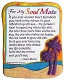 modellierte Magnet: für My Soul Mate, 7,6x 8,9cm