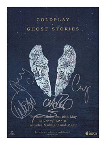 Coldplay Signiert Autogramme 21cm x 29.7cm Plakat Foto -