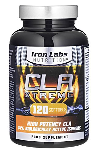 CLA Xtreme - 1000mg x 120 Softgels | Ultimate CLA Supplement | Conjugated Linoleic Acid | No.1 CLA Sports Supplement Test