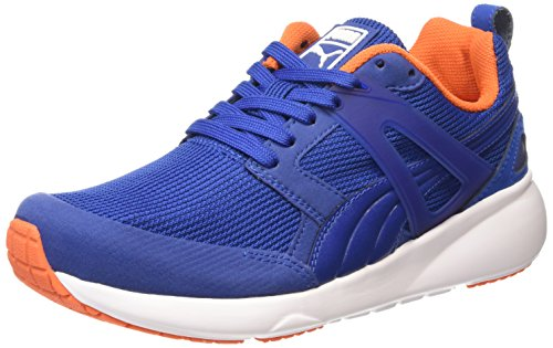 Puma - Aril, Sneakers, unisex, blu (limoges-white 10), 43