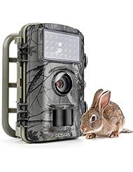 Gosira Camara de Caza 1080P 12MP HD 26pcs 940nm IR Camara Vigilancia Sensor Movimiento 2.4