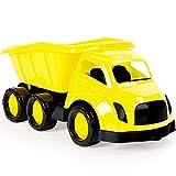Dolu Großer LKW mit klappbarer Ladefläche Sandspielzeug ab 3 Jahren • Kipper Kinder Fahrzeug Garten Spielzeug Kipplaster XXL