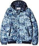 Scotch & Soda Jungen Jacke Padded Jacket with Hood in Short Length, Mehrfarbig (Combo A 217), 164 (Herstellergröße: 14)