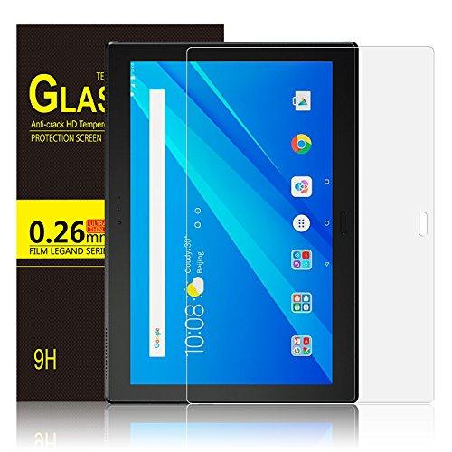IVSO Lenovo Tab4 10 Plus Bildschirmschutz, 9H Hardness aus, Klar Anti-Kratz, Glas Folie Schutzfolie Glas Panzerfolie Bildschirmschutzfolie für Lenovo Tab4 10 Plus/Lenovo Tab 4 10 Plus, (1 Packungen x)