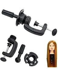 Hrph Stand Cosmetology Adjustable Modèle Mannequin Head perruque Stand Holder table de serrage