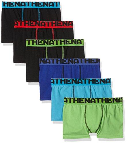 athena-graphic-boxer-lot-de-6-garcon-multicolore-noir-noir-noir-turquoise-indigo-vert-fr-16-ans-tail