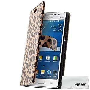 Housse portefeuille Léopard pour Samsung Galaxy Grand Prime
