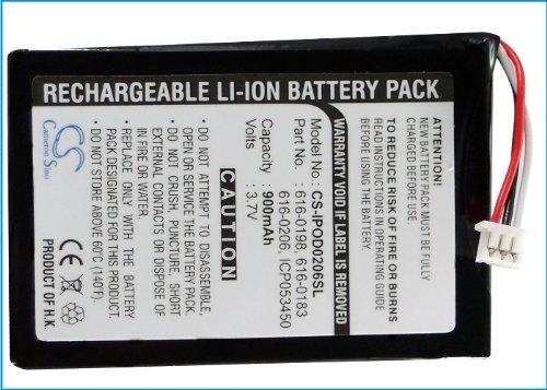 Akku für Apple iPod 4 | 4G | iPod Photo | A1059 | 4. Generation 4. Generation Ipod Photo