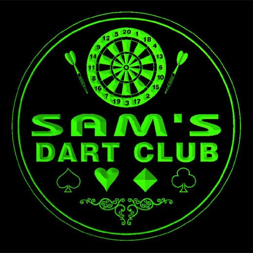 4x-ccts0192-g-sams-dart-club-game-room-bar-beer-3d-drink-coasters