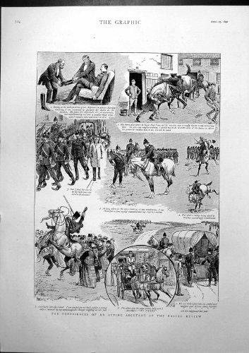 Erfahrungen Wirkende Adjutant-Ostern-Zusammenfassungs-Fälle Weg Von Pferd 1892