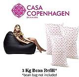 #8: Casa Copenhagen 3 Kg A-Grade Bean Bag Refill/Filler