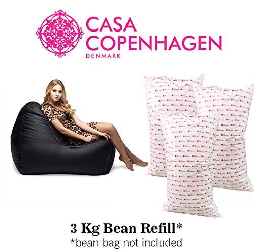 Casa Copenhagen 3 Kg A-Grade Bean Bag Refill/Filler