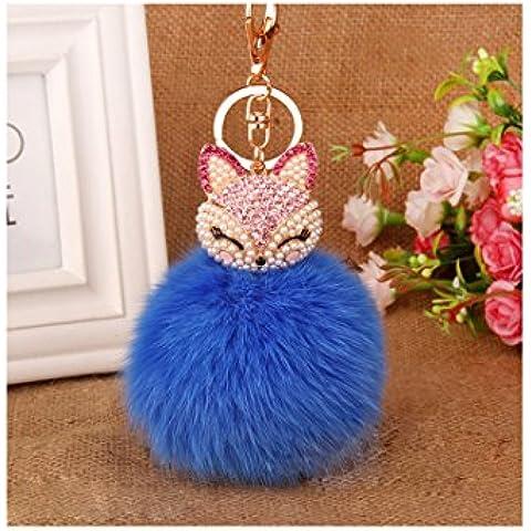 Lovely Fox Visone pelliccia per borsa da