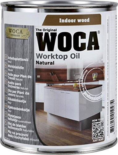 Birke Ahorn-tisch (WOCA 527713AA Arbeitsplattenöl Natur 0,75 Liter)