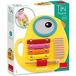 Goula - Tiki musical 3 en 1, juguete con sonido (Diset 53132)