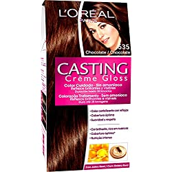 L'Oréal Coloración sin Amoniaco Casting Créme Gloss 535 Chocolate - 600 gr