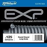 """D'Addario EXPXLB125 EXP Einzelsaite für Bassgitarre, mit Nickel beschichtetem Runddraht umsponnen (""""roundwound"""").125"""