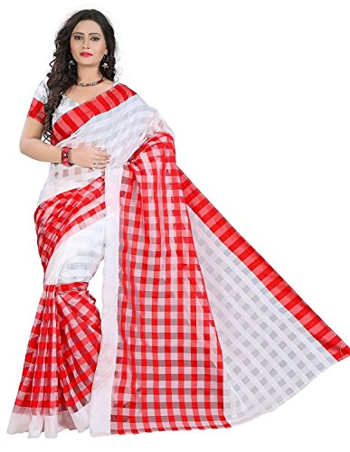 saree (Women's Clothing Saree For Women Latest Design Wear Sarees Collection in Tassar Silk Material Latest Saree With Designer Blouse Free Size Beautiful Bollywood Saree For Women Party Wear Offer Designer Sarees With Blouse Piece)  available at amazon for Rs.199