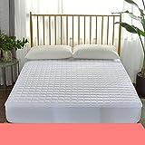 HYXL Anti-Rutsch Matratzenschoner Pad Bett Matratzenauflage,Matratzenauflage mit montierten Rock Bett matratze einzelbett Pad Schutz Pad Dünne matratze Tatami-B 180x200cm(71x79inch)